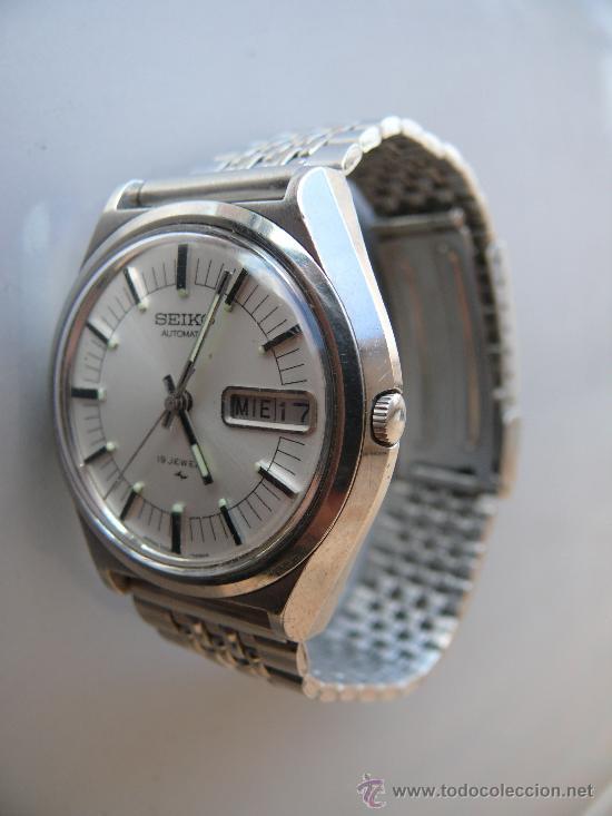 820696387ecd Precioso reloj seiko automatic 19 jewels