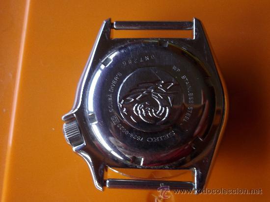 Relojes automáticos: SOLIDO RELOJ SEIKO SCUBA DIVER 200 m AUTOMATICO 7s26 DIVER S MODIFICADO SUBMARINER EXPLORER BUCEO - Foto 3 - 37452712