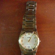 Relojes automáticos: RELOJ DOGMA CALENDARIO CHAPADO EN ORO - PILAS- (FUNCIONANDO) - (I-A-76). Lote 37722817