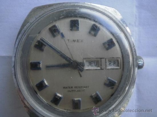 RELOJ TIMEX AUTOMATICO FUNCIONA ,BARATO (Relojes - Relojes Automáticos)