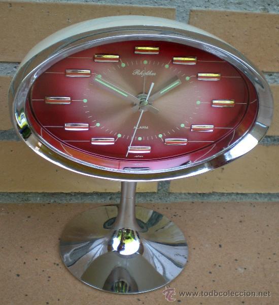 RELOJ RHYTHM, DISEÑO TULIP, MADE IN JAPAN (Relojes - Relojes Automáticos)