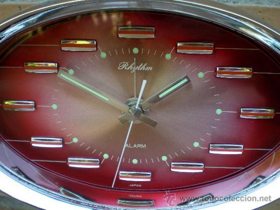 Relojes automáticos: Reloj Rhythm, diseño Tulip, Made in Japan - Foto 3 - 38145922