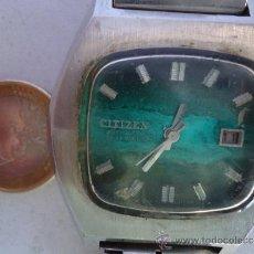 Relojes automáticos: ANTIGUO Y PRECIOSO RELOJ DE CABALLERO AUTOMATICO--CITIZEN--M.GRANDE Y Y FUNCIONANDO. Lote 38200454