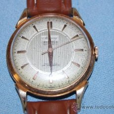 Relojes automáticos: RELOJ CABALLERO CHAPADO EN ORO AÑOS 50. Lote 151917325