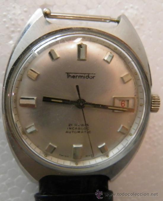 RELOJ DE PULSERA THERMIDOR,21 RUBIS,INCABLOC,AUTOMATIC, AÑOS 50 O 60 (Relojes - Relojes Automáticos)