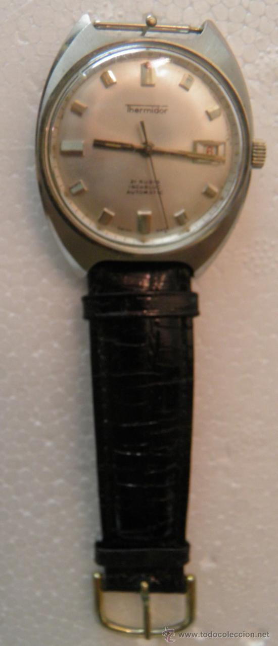 Relojes automáticos: RELOJ DE PULSERA THERMIDOR,21 RUBIS,INCABLOC,AUTOMATIC, AÑOS 50 O 60 - Foto 2 - 39220514