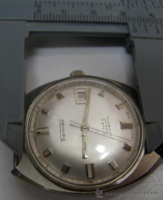 Relojes automáticos: RELOJ DE PULSERA THERMIDOR,21 RUBIS,INCABLOC,AUTOMATIC, AÑOS 50 O 60 - Foto 3 - 39220514