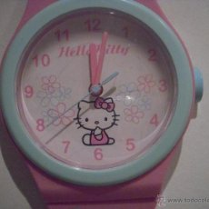 Relojes automáticos: RELOJ DE PARED HELLO KITTY. Lote 39315581