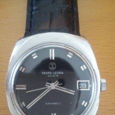 Relojes automáticos: RELOJ FAVRE LEUBA DAYMATIC. Lote 103497082