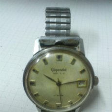 Relojes automáticos: RELOJ AUTOMATICO DE LA MARCA GIGONDET. INCABLOC. 21 RUBIS. SWISS MADE FUNCIONANDO. Lote 56592057