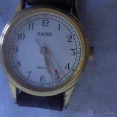 Relojes automáticos: RELOJ RACER ORIENT WATCH LTD ANTIGUO DE SEÑORA CORREA CUERO A PILA. Lote 41024265