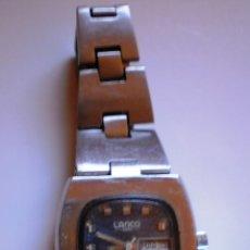Relojes automáticos: RELOJ LANCO SRA. AUTOMATIC -CON ARMYS ACERO.. Lote 41465993