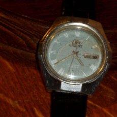 Relojes automáticos: RELOJ ORIENT CRYSTAL 21 JEWELS,CALENDARIO,CAJA DE ACERO,WATER RESISTENT,NUMERADO.. Lote 97910335