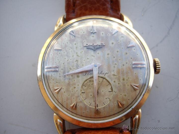 LONGINES CAJA DE ORO AÑOS 50. (Relojes - Relojes Automáticos)