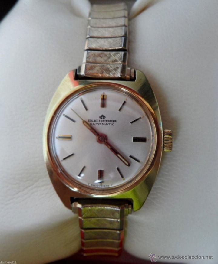 Relojes automáticos: Reloj marca Bucherer Automatico,de señoras - Foto 3 - 42189254