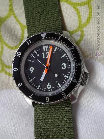 SOLIDO RELOJ SEIKO SCUBA DIVER 200 M AUTOMATICO 7S26 DIVER S MODIFICADO SUBMARINER EXPLORER BUCEO (Relojes - Relojes Automáticos)