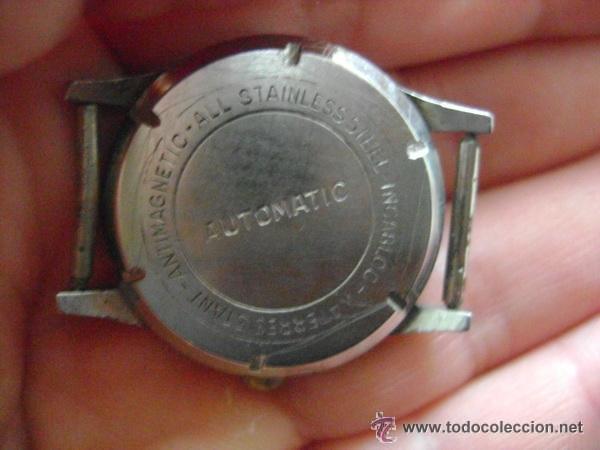Relojes automáticos: Antiguo reloj automático EFFEN WATCH MEYER 17 JEWELS MADE IN SWISS - Foto 4 - 42679812