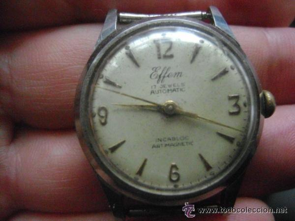 Swiss Effen Automático Made Reloj Watch Antiguo 17 In Meyer Jewels dQrtCsh