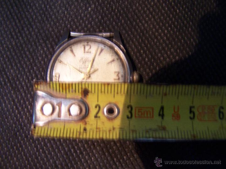 Relojes automáticos: Antiguo reloj automático EFFEN WATCH MEYER 17 JEWELS MADE IN SWISS - Foto 7 - 42679812
