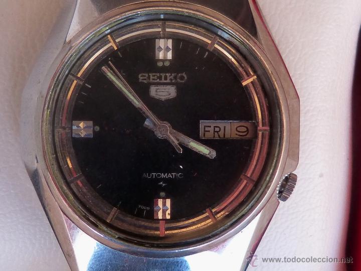 SEIKO RELOJ AUTOMÁTICO PARA HOMBRES, VINTAGE, 17 JEWELS (Relojes - Relojes Automáticos)