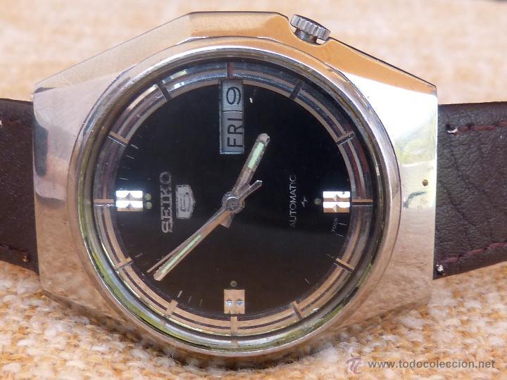 Relojes automáticos: Seiko Reloj Automático para hombres, Vintage, 17 Jewels - Foto 3 - 43041576