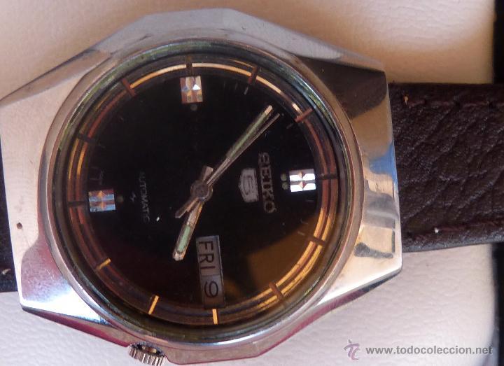 Relojes automáticos: Seiko Reloj Automático para hombres, Vintage, 17 Jewels - Foto 4 - 43041576
