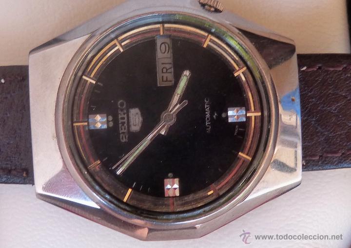 Relojes automáticos: Seiko Reloj Automático para hombres, Vintage, 17 Jewels - Foto 5 - 43041576