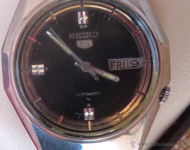 Relojes automáticos: Seiko Reloj Automático para hombres, Vintage, 17 Jewels - Foto 6 - 43041576