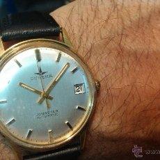 Relojes automáticos: RELOJ ANTIGUO DE CABALLERO DUGENA JONGSTER AUTOMÁTICO 1092, AÑOS 70, CHAPADO EN ORO DE 20 MICRAS. Lote 184137398
