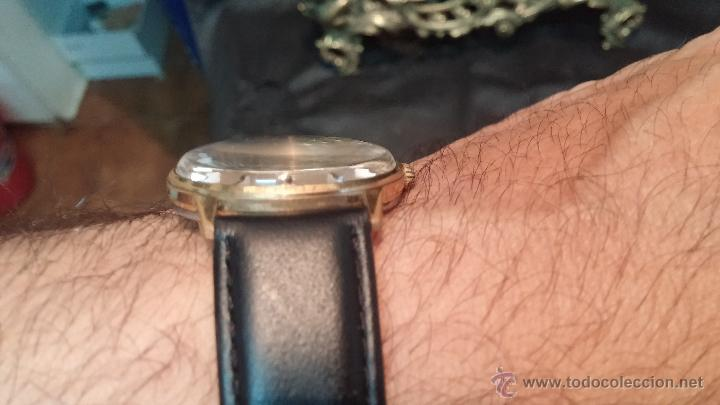 Relojes automáticos: Reloj antiguo de caballero Dugena Jongster automático 1092, años 70, chapado en oro de 20 micras - Foto 3 - 184137398