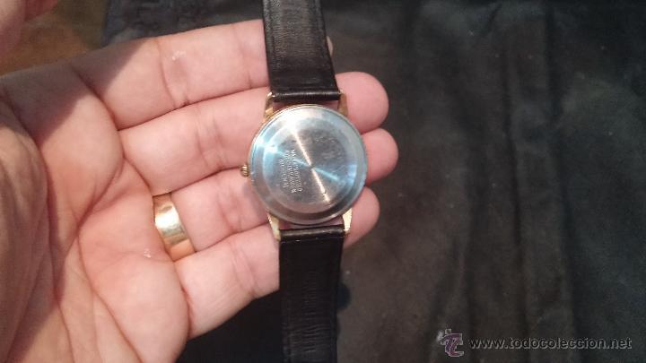 Relojes automáticos: Reloj antiguo de caballero Dugena Jongster automático 1092, años 70, chapado en oro de 20 micras - Foto 11 - 184137398