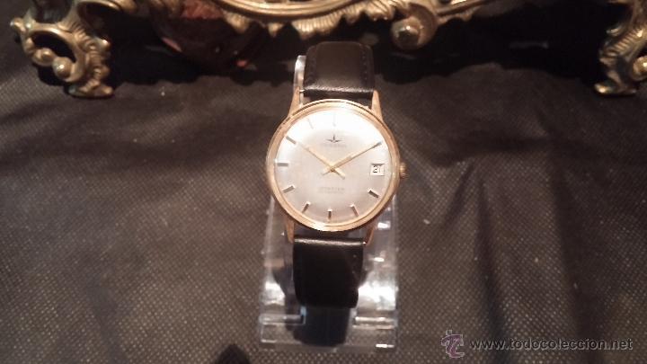 Relojes automáticos: Reloj antiguo de caballero Dugena Jongster automático 1092, años 70, chapado en oro de 20 micras - Foto 15 - 184137398