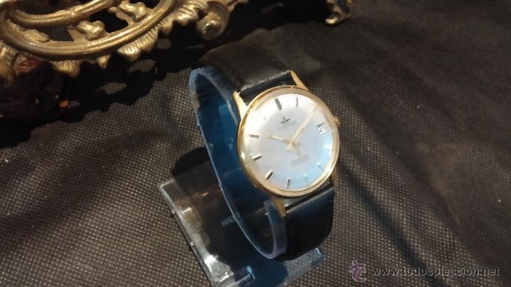 Relojes automáticos: Reloj antiguo de caballero Dugena Jongster automático 1092, años 70, chapado en oro de 20 micras - Foto 17 - 184137398