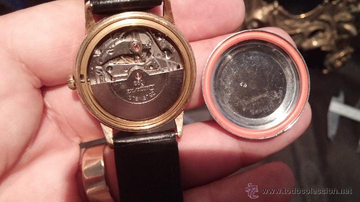 Relojes automáticos: Reloj antiguo de caballero Dugena Jongster automático 1092, años 70, chapado en oro de 20 micras - Foto 22 - 184137398
