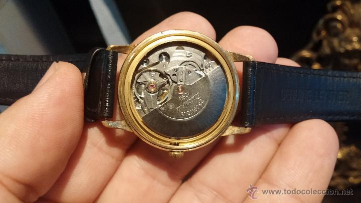 Relojes automáticos: Reloj antiguo de caballero Dugena Jongster automático 1092, años 70, chapado en oro de 20 micras - Foto 23 - 184137398