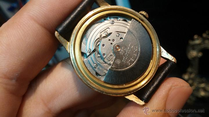 Relojes automáticos: Reloj antiguo de caballero Dugena Jongster automático 1092, años 70, chapado en oro de 20 micras - Foto 30 - 184137398