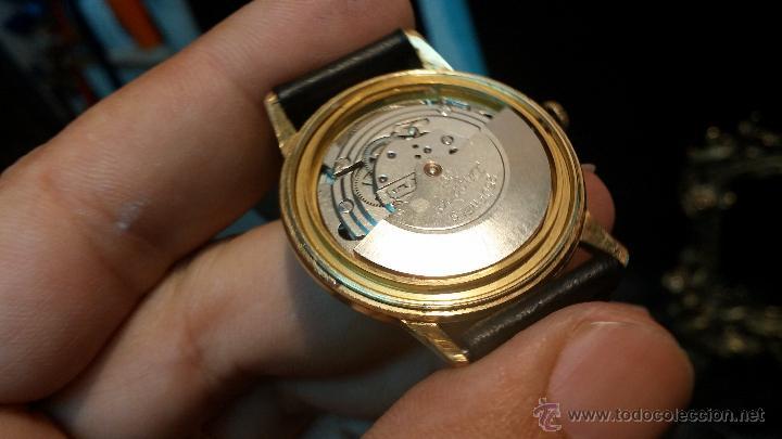 Relojes automáticos: Reloj antiguo de caballero Dugena Jongster automático 1092, años 70, chapado en oro de 20 micras - Foto 31 - 184137398