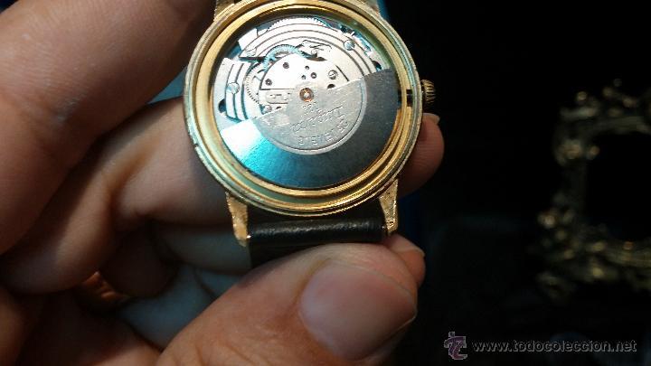Relojes automáticos: Reloj antiguo de caballero Dugena Jongster automático 1092, años 70, chapado en oro de 20 micras - Foto 32 - 184137398