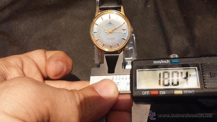 Relojes automáticos: Reloj antiguo de caballero Dugena Jongster automático 1092, años 70, chapado en oro de 20 micras - Foto 39 - 184137398