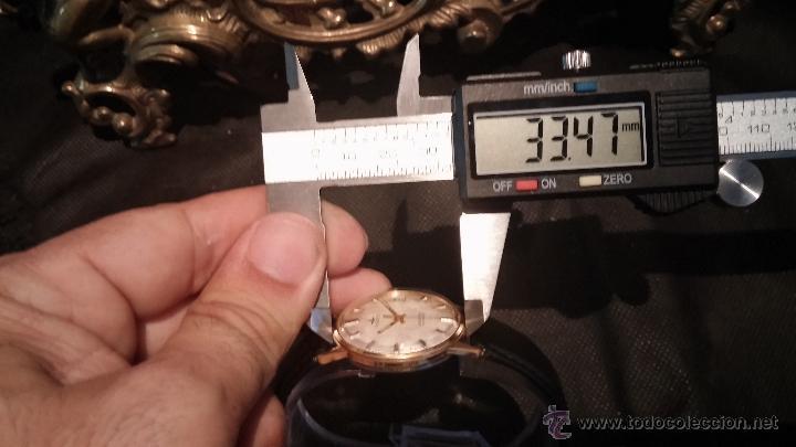 Relojes automáticos: Reloj antiguo de caballero Dugena Jongster automático 1092, años 70, chapado en oro de 20 micras - Foto 40 - 184137398