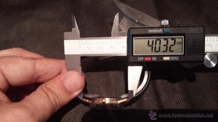 Relojes automáticos: Reloj antiguo de caballero Dugena Jongster automático 1092, años 70, chapado en oro de 20 micras - Foto 41 - 184137398