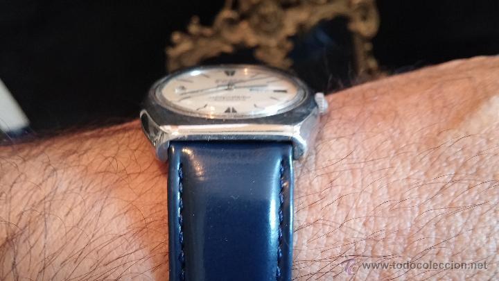 Relojes automáticos: Antiguo reloj Cyma automático Conquistador by Synchron - Foto 4 - 43377082