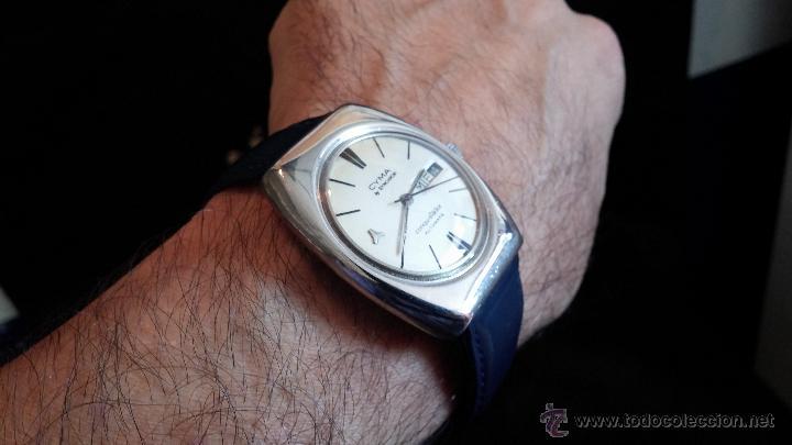 Relojes automáticos: Antiguo reloj Cyma automático Conquistador by Synchron - Foto 6 - 43377082