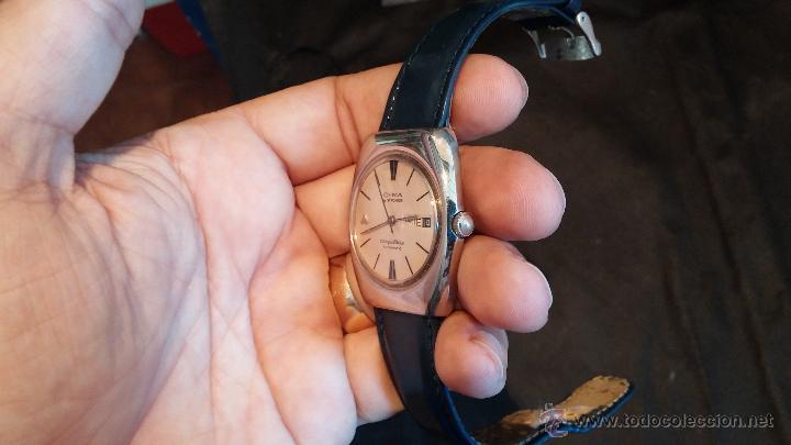 Relojes automáticos: Antiguo reloj Cyma automático Conquistador by Synchron - Foto 17 - 43377082