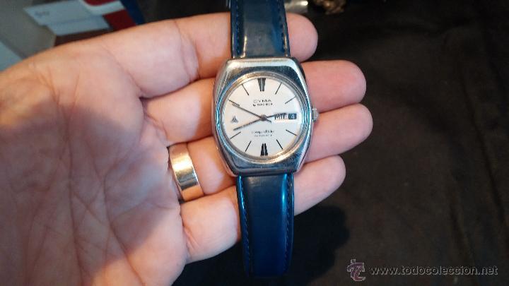 Relojes automáticos: Antiguo reloj Cyma automático Conquistador by Synchron - Foto 20 - 43377082