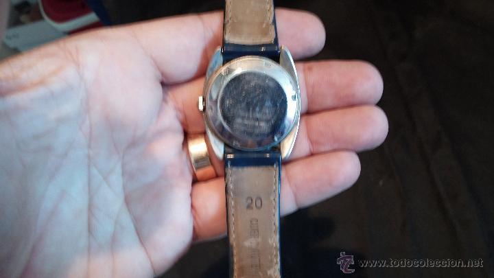 Relojes automáticos: Antiguo reloj Cyma automático Conquistador by Synchron - Foto 21 - 43377082