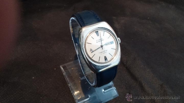 Relojes automáticos: Antiguo reloj Cyma automático Conquistador by Synchron - Foto 23 - 43377082