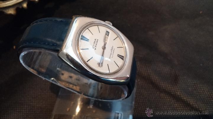 Relojes automáticos: Antiguo reloj Cyma automático Conquistador by Synchron - Foto 29 - 43377082