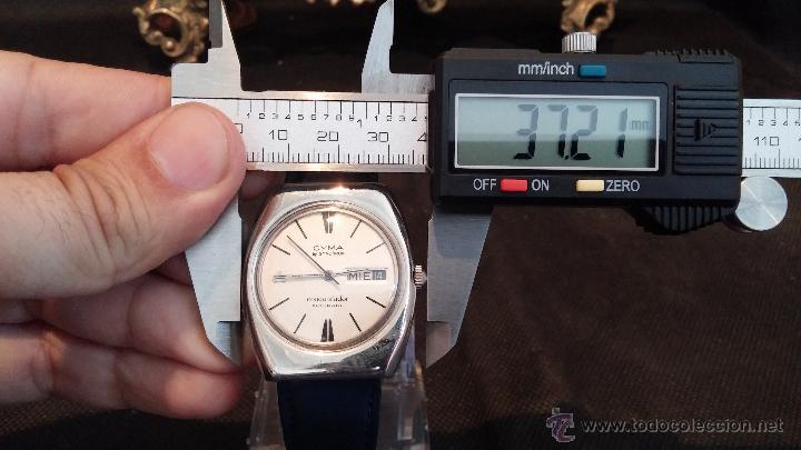 Relojes automáticos: Antiguo reloj Cyma automático Conquistador by Synchron - Foto 31 - 43377082