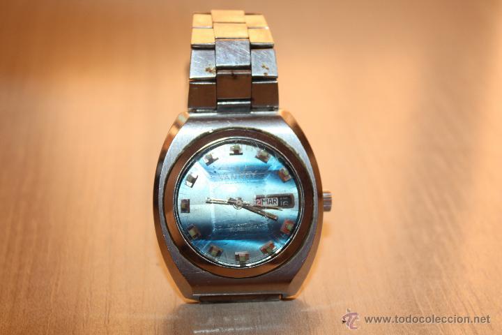 RELOJ MARCA **VANROY AUTOMATIC 25 JEWELS INCABLOC**FUNCIONA PERFECTO (Relojes - Relojes Automáticos)